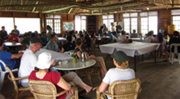 Buffet at the dining room - Beach Resort
